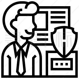 保密数据图标