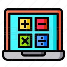 电脑计算器图标
