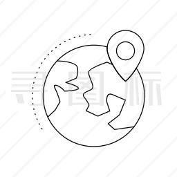 全球定位系统图标
