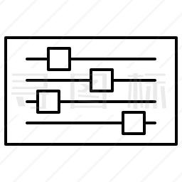 均衡器图标