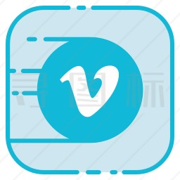 Vimeo图标