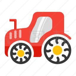 农用拖拉机图标