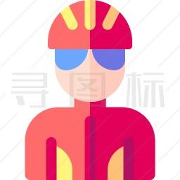 骑行者图标