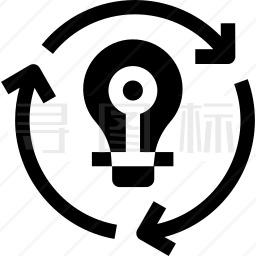 循环使用图标