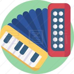 手风琴图标
