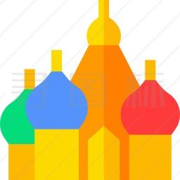 圣巴西尔大教堂图标