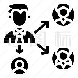 用户代表图标