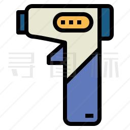 体温枪图标