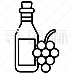 葡萄酒图标