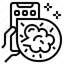 手机漫画图标