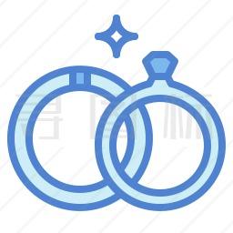 结婚戒指图标
