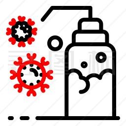 杀菌剂图标