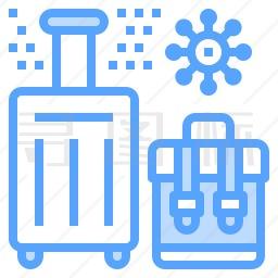 行李箱图标