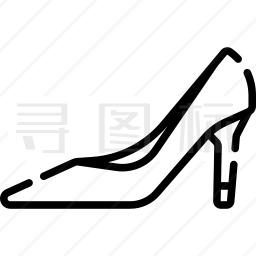 高跟鞋图标