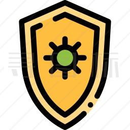 病毒安全图标