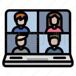 视频会议图标