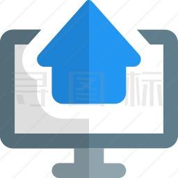 电脑房产图标