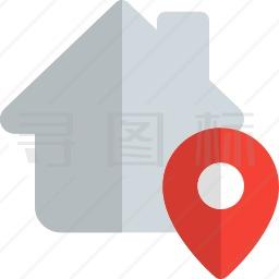 房子位置图标