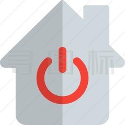 房子电源图标