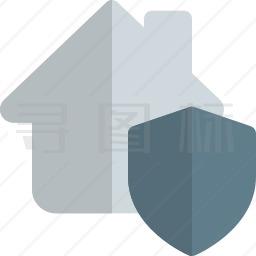 房子安全图标