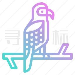 金刚鹦鹉图标