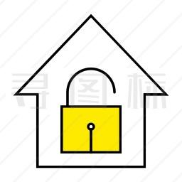 房子封锁图标