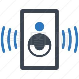 手机扬声器图标