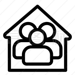 居家隔离图标