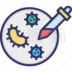 病毒培养图标