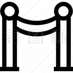 隔离栏图标
