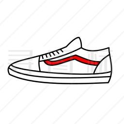 休闲鞋图标