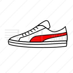 运动鞋图标