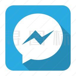 facebook messenger图标