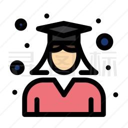毕业生图标