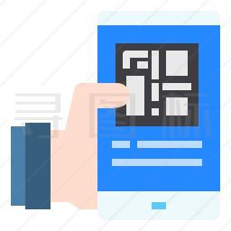 手机二维码图标