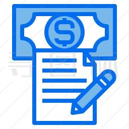 财务报告图标