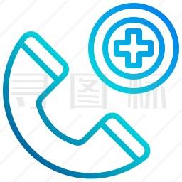 医疗电话图标