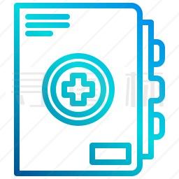 医疗笔记本图标
