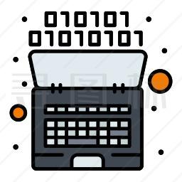 电脑代码图标
