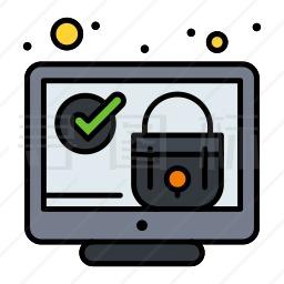 安全系统图标
