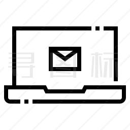 电脑邮件图标