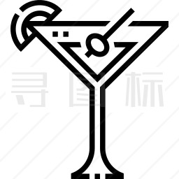 鸡尾酒图标