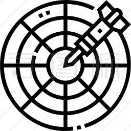 飞镖靶图标