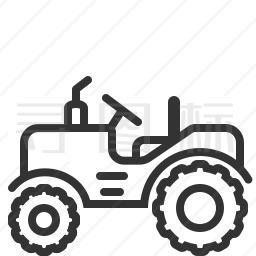 拖拉机图标