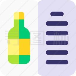 葡萄酒菜单图标