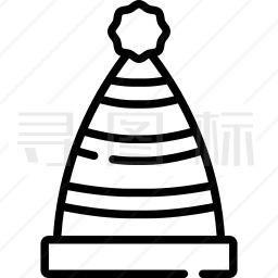 圣诞帽子图标