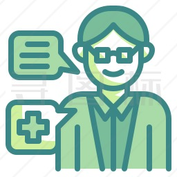 医疗咨询图标