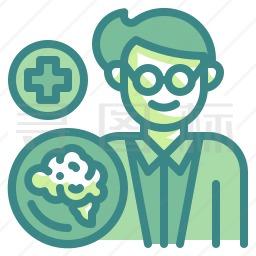 脑科医生图标