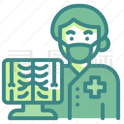 放射科医生图标