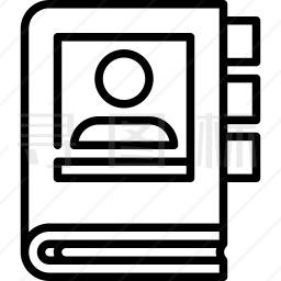 通讯录图标
